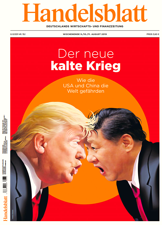 Handelsblatt - Der neue kalte Krieg (Cover)